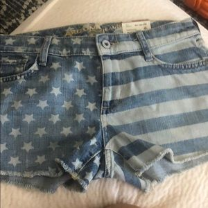 Jean shorts Stars & Stripes